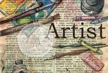 Mixed Media / Inspiration for creating mixed media art