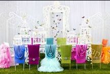 Table Design - Chair Focus / by Tori - Platinum Elegance Weddings & Events