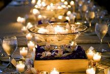 Centerpieces - Candlelight Focus / by Tori - Platinum Elegance Weddings & Events