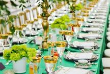 Table Design - Settings & Tablescapes / by Tori - Platinum Elegance Weddings & Events