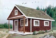 Little cabin in the woods / by Nancy Scott
