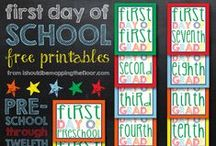 Fun Back to School ideas / All sorts of fun Back to School Ideas to get you and your little ones excited about school!