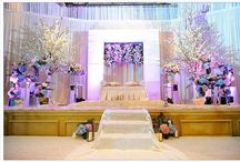 Receptions - Stages and Backdrops / by Tori - Platinum Elegance Weddings & Events