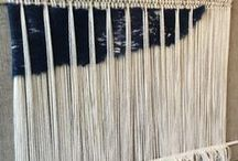 Weaving / Inspiration plus actual photos of woven projects by Pattiewack