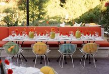 Mid century modern Vegas theme / Vintage Vegas party decor / by Jessica Pate