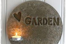 Sommarstuga - trädgård