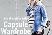 Capsule Waredrobe // Maternity Style