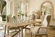 Dining Spaces  / by Marcy @ ANTIQUECHASE