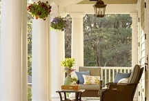 Outdoor Living - Porches, Patios - ANTIQUECHASE / by Marcy @ ANTIQUECHASE
