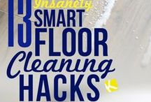 Flooring: Tips & Tricks / Pinterest inspired ways to maintain your carpet and flooring in tip top shape.