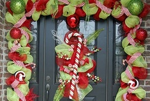 crafts; wreaths && door ideas / by Candace Marie