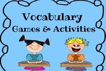 Vocabulary / by Anna Hulsey