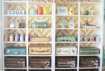 Craft rooms to envy~