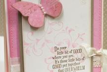 Butterfly Cards / by Giovanna Iannicelli