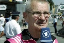 Eule - Dieter Ruthenberg  / Pinboard über den Betreuer des ehemaligen Team Telekom Dieter Ruthenberg