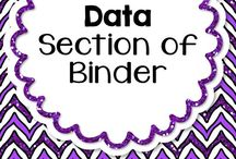 """""""Data"""" Section of Binder"""