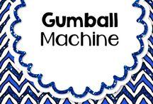 Gumball Machine / Erasers that I can add to my Gumball Machine