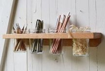Organisation and Storage / Admit it, we all need help organising our bits and pieces and avoid the chaos of clutter