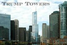 Trump Towers / The Trump International Hotel & Tower, also known as Trump Tower Chicago, is among Chicago's most recognizable skyscrapers. The 98-story structure located at 401 N. Wabash Avenue houses 486 luxury residential condominiums, retail space, a parking garage and 339 hotel rooms. Originally designed by architect Adrian Smith of Skidmore, Owings and Merrill, Trump Tower Chicago reaches a height of 1,389 feet, including its spire.
