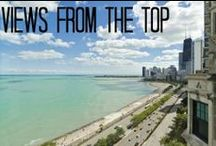Views from the top / WHAT A VIEW! Take a look at these views from Chicago's downtown neighborhoods bordering Lake Shore Drive, including the Gold Coast, Streeterville, the Chicago Loop, and the South Loop.