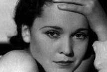 Maureen O'Sullivan / A board for a classic actress.