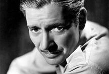 Ronald Colman / A board for a great classic star with a velvet voice.  I based the main character in Murder By Plane on Ronald Colman.