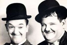 Laurel and Hardy / A board for my favorite hilarious duo.