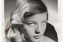 Bacall / Bogey's gal.