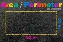 Area & Perimeter / by Anna Hulsey