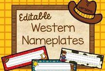 Western (Classroom Theme) / by Anna Hulsey