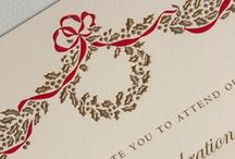 2015 Holiday Soiree Invitations / by Crane & Co.