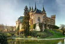 Castles - Mystical Dimension / A collection of castles from around the world and in all forms of art.