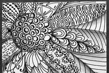 Zantangle Patterns
