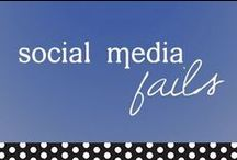 Social Media Fails / Businesses who use it right enjoy so much social media success. Those who don't endure epic fails. Check 'em out.  This board provides insights and outtakes from the social media marketing experts at PuTTin' OuT. Facebook, Twitter, Google+, Instagram, YouTube, Tumblr, LinkedIn, Snapchat and, of course, Pinterest… we use them all in innovative ways to engage audiences and elevate brands. www.PuTTinOuT.com