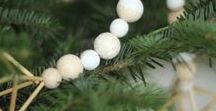 Scandinavian Christmas / Simple, natural decorations, good food and hygge