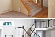Interiors: Before & After / Luna can help you find the floors you'll love! Visit Luna.com to Reserve your FREE In-Home Appointment or call (877) 241-LUNA.