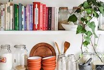 K I T C H E N S / dreamy, colorful, fresh, country, farm, happy, mountain kitchens. / by GIRLS PEARLS & POWDER