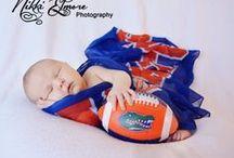 Go Gators! / anything Orange and Blue. Florida Gators / by Nikki Elmore