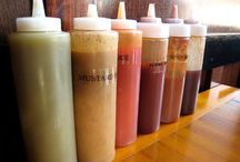 FOOD: Sauces, Dressings, & Condiment stuff / The good stuff / by Wendy P