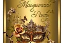 Masquerade Party... / ☣☣☣☣☣☣☣☣☣☣☣☣☣☣☣☣☣☣☣☣☣☣☣ / by Janice Johnston