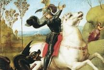 San Giorgio e il Drago / Voglio raccogliere tutte le rappresentazioni disponibili di questa leggenda nell'arte di tutti i paesi: aiutatemi! Help me to collect all the artistic rappresentations of this old story.