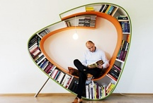Architecture /// Book shelves & storage