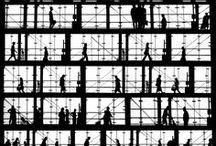Pixels - B&W