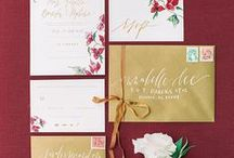 To Be Wed: Invitations / Save-the-dates, invitations, reply cards, table numbers, place cards, programs, escort cards and more. All of the paper products from our favorite local Arizona wedding vendors!