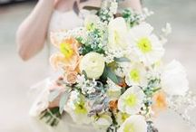 Wedding Day: Bridal Bouquets / From bridal bouquets to boutonnieres, wedding florals are the perfect way to add your touch of personal style! Flower inspiration from Real Arizona Weddings including classic succulent and cacti flower arrangements!
