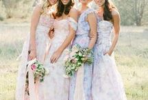 Wedding Day: Bridesmaids / Looking for cute ideas for your attendants' dresses? Arizona Weddings Magazine favorite bridesmaid inspiration from local Real Arizona Weddings and vendors!