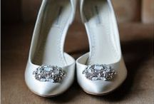 Wedding Day: Shoes / That stroll down the aisle will be one of the most memorable walks in your life. Arizona Weddings Magazine favorite wedding day shoes from Real Arizona brides!