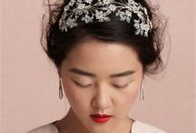 Wedding Day: Bridal Hair / Trying to figure out what to do with your luxurious locks on your wedding day? Arizona Weddings Magazine favorite bridal hair trends from local beauty experts!