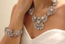 Wedding Day: Jewelry / From the bride's necklace and earrings to bridesmaids jewelry, Arizona Weddings Magazine favorite bling from local vendors!