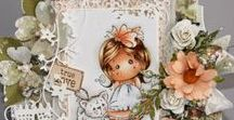 Girly Cards & Designs / Cute, Pretty Girly Cards & Papercraft Designs
